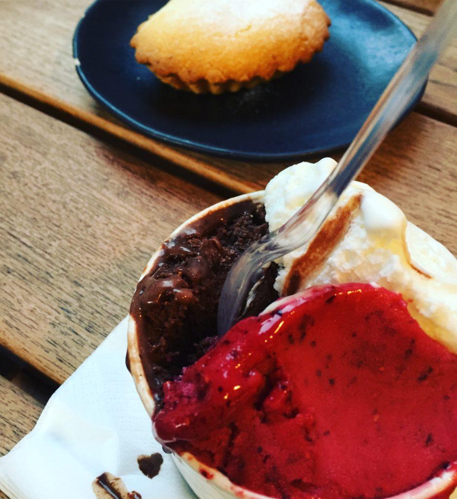 Dondurma ve tart